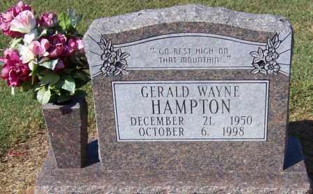 HAMPTON, GERALD WAYNE - Prairie County, Arkansas | GERALD WAYNE HAMPTON - Arkansas Gravestone Photos