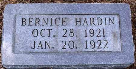 HARDIN, BERNICE - Prairie County, Arkansas | BERNICE HARDIN - Arkansas Gravestone Photos