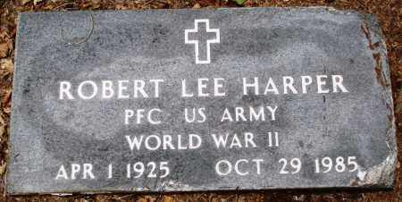 HARPER (VETERAN WWII), ROBERT LEE - Prairie County, Arkansas | ROBERT LEE HARPER (VETERAN WWII) - Arkansas Gravestone Photos