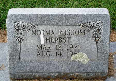 HERBST, NORMA - Prairie County, Arkansas | NORMA HERBST - Arkansas Gravestone Photos