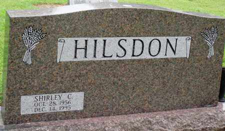 HILSDON, SHIRLEY C - Prairie County, Arkansas | SHIRLEY C HILSDON - Arkansas Gravestone Photos