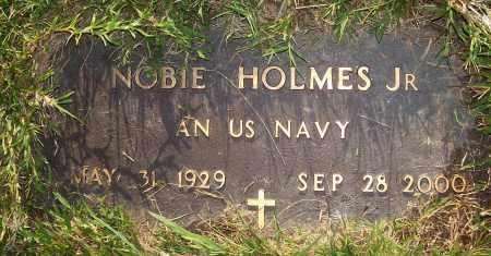 HOLMES, JR  (VETERAN), NOBIE - Prairie County, Arkansas | NOBIE HOLMES, JR  (VETERAN) - Arkansas Gravestone Photos