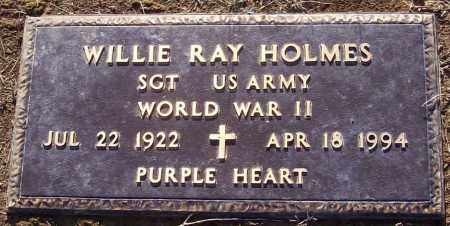 HOLMES  (VETERAN WWII), WILLIE RAY - Prairie County, Arkansas | WILLIE RAY HOLMES  (VETERAN WWII) - Arkansas Gravestone Photos