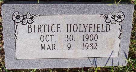 HOLYFIELD, BIRTICE - Prairie County, Arkansas | BIRTICE HOLYFIELD - Arkansas Gravestone Photos