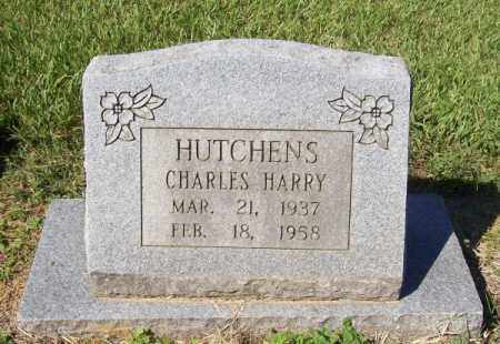 HUTCHENS, CHARLES HARRY - Prairie County, Arkansas | CHARLES HARRY HUTCHENS - Arkansas Gravestone Photos