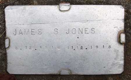 JONES, JAMES S - Prairie County, Arkansas | JAMES S JONES - Arkansas Gravestone Photos