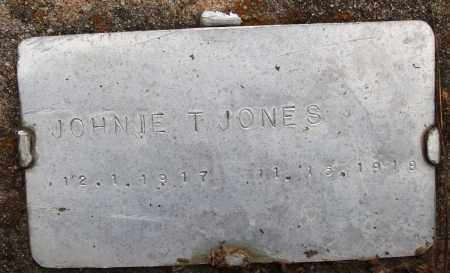 JONES, JOHNIE T - Prairie County, Arkansas | JOHNIE T JONES - Arkansas Gravestone Photos