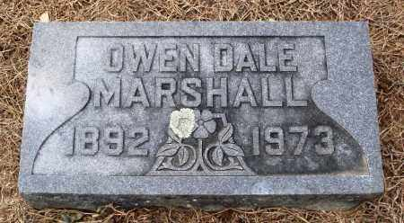 MARSHALL, OWEN DALE - Prairie County, Arkansas | OWEN DALE MARSHALL - Arkansas Gravestone Photos