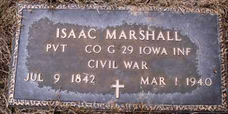 MARSHALL (VETERAN UNION), ISAAC - Prairie County, Arkansas | ISAAC MARSHALL (VETERAN UNION) - Arkansas Gravestone Photos