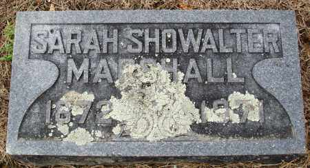 MARSHALL, SARAH - Prairie County, Arkansas | SARAH MARSHALL - Arkansas Gravestone Photos