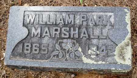MARSHALL, WILLIAM PARK - Prairie County, Arkansas | WILLIAM PARK MARSHALL - Arkansas Gravestone Photos
