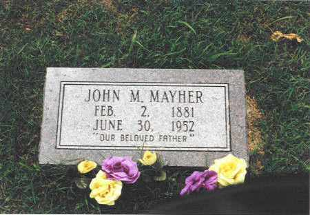 MAYER, JOHN MARTIN - Prairie County, Arkansas | JOHN MARTIN MAYER - Arkansas Gravestone Photos