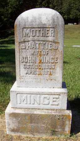 MINCE, HATTIE - Prairie County, Arkansas | HATTIE MINCE - Arkansas Gravestone Photos