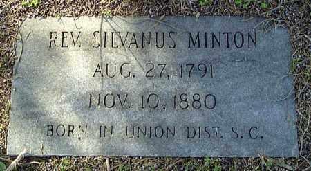 MINTON, SILVANUS - Prairie County, Arkansas | SILVANUS MINTON - Arkansas Gravestone Photos