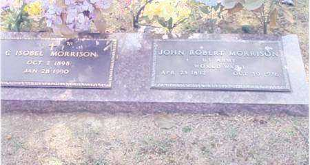 MORRISON  (VETERAN WWI), JOHN ROBERT - Prairie County, Arkansas | JOHN ROBERT MORRISON  (VETERAN WWI) - Arkansas Gravestone Photos