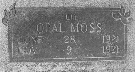 MOSS, OPAL - Prairie County, Arkansas | OPAL MOSS - Arkansas Gravestone Photos