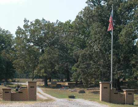 *OAKLAND CEMETERY ENTRANCE, . - Prairie County, Arkansas | . *OAKLAND CEMETERY ENTRANCE - Arkansas Gravestone Photos