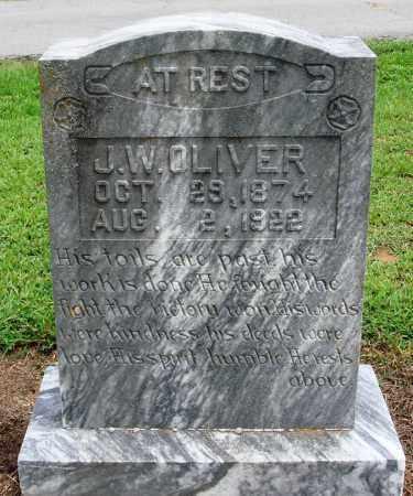 OLIVER, J W - Prairie County, Arkansas | J W OLIVER - Arkansas Gravestone Photos