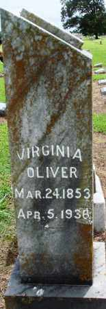 OLIVER, VIRGINIA - Prairie County, Arkansas | VIRGINIA OLIVER - Arkansas Gravestone Photos