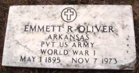 OLIVER (VETERAN WWI), EMMETT R - Prairie County, Arkansas | EMMETT R OLIVER (VETERAN WWI) - Arkansas Gravestone Photos