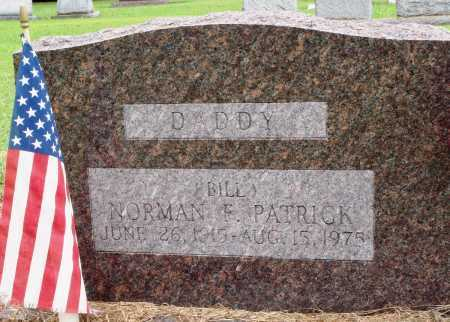 "PATRICK, NORMAN F ""BILL"" - Prairie County, Arkansas 