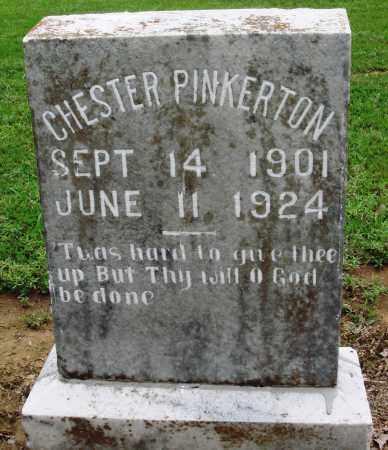 PINKERTON, CHESTER - Prairie County, Arkansas | CHESTER PINKERTON - Arkansas Gravestone Photos