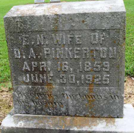 PINKERTON, E N - Prairie County, Arkansas | E N PINKERTON - Arkansas Gravestone Photos