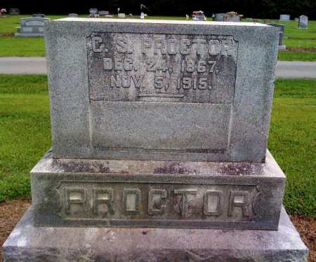 PROCTOR, C S - Prairie County, Arkansas | C S PROCTOR - Arkansas Gravestone Photos