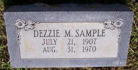 SAMPLE, DEZZIE M - Prairie County, Arkansas | DEZZIE M SAMPLE - Arkansas Gravestone Photos