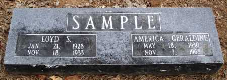 SAMPLE, AMERICA GERALDINE - Prairie County, Arkansas | AMERICA GERALDINE SAMPLE - Arkansas Gravestone Photos