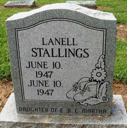 STALLINGS, LANELL - Prairie County, Arkansas | LANELL STALLINGS - Arkansas Gravestone Photos