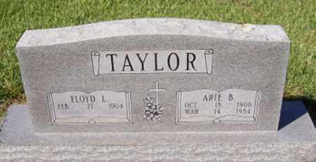 TAYLOR, FLOYD L - Prairie County, Arkansas | FLOYD L TAYLOR - Arkansas Gravestone Photos