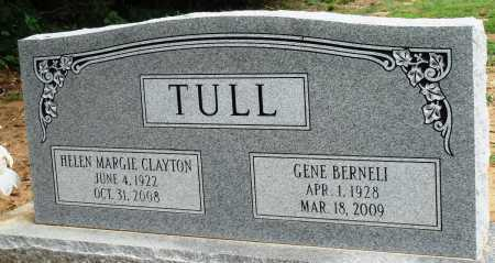 CLAYTON TULL, HELEN MARGIE - Prairie County, Arkansas | HELEN MARGIE CLAYTON TULL - Arkansas Gravestone Photos