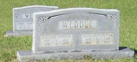 WEDDLE, WILLIAM ANDREW - Prairie County, Arkansas | WILLIAM ANDREW WEDDLE - Arkansas Gravestone Photos