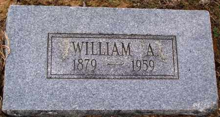 WHITAKER, WILLIAM A - Prairie County, Arkansas | WILLIAM A WHITAKER - Arkansas Gravestone Photos