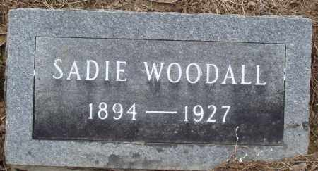 WOODALL, SADIE - Prairie County, Arkansas | SADIE WOODALL - Arkansas Gravestone Photos