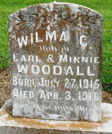 WOODALL, WILMA C - Prairie County, Arkansas | WILMA C WOODALL - Arkansas Gravestone Photos