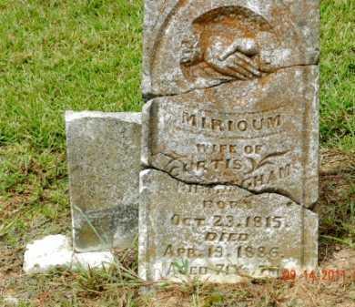 BIRMINGHAM, MIRIOUM JANE - Pulaski County, Arkansas | MIRIOUM JANE BIRMINGHAM - Arkansas Gravestone Photos