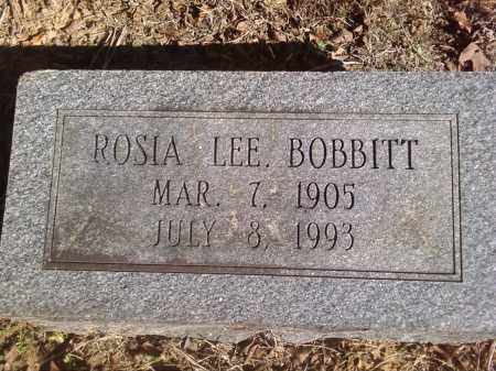 BOBBITT, ROSIA LEE. - Pulaski County, Arkansas | ROSIA LEE. BOBBITT - Arkansas Gravestone Photos