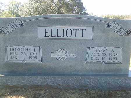 ELLIOTT, HARRY N. - Pulaski County, Arkansas | HARRY N. ELLIOTT - Arkansas Gravestone Photos