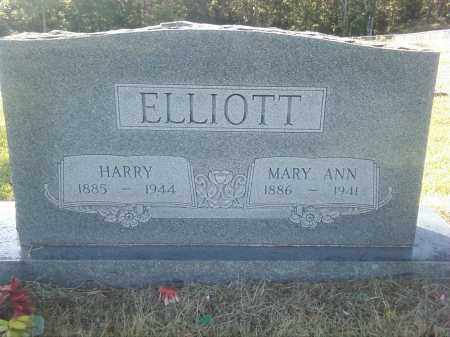 ELLIOTT, MARY ANN - Pulaski County, Arkansas | MARY ANN ELLIOTT - Arkansas Gravestone Photos