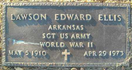 ELLIS  (VETERAN WWII), LAWSON EDWARD - Pulaski County, Arkansas | LAWSON EDWARD ELLIS  (VETERAN WWII) - Arkansas Gravestone Photos