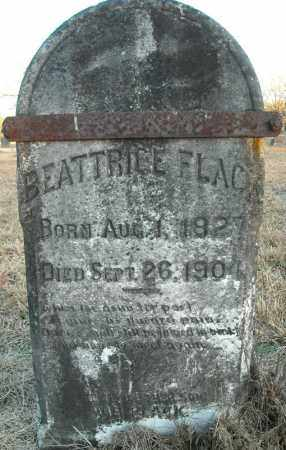 FLACK, BEATTRICE - Pulaski County, Arkansas | BEATTRICE FLACK - Arkansas Gravestone Photos