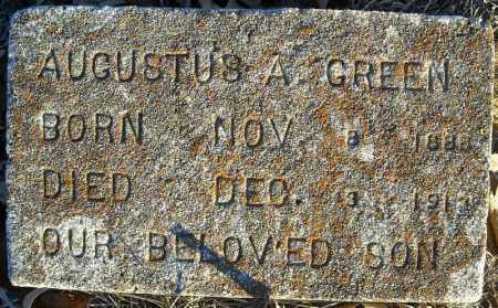 GREEN, AUGUSTUS A. - Pulaski County, Arkansas | AUGUSTUS A. GREEN - Arkansas Gravestone Photos