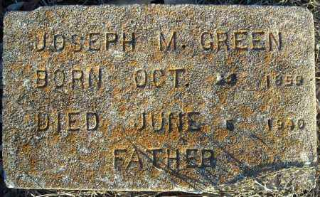 GREEN, JOSEPH M. - Pulaski County, Arkansas | JOSEPH M. GREEN - Arkansas Gravestone Photos