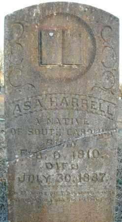 HARRELL, ASA - Pulaski County, Arkansas | ASA HARRELL - Arkansas Gravestone Photos