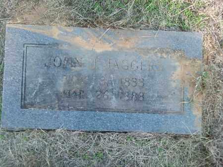JAGGERS, JOHN J. - Pulaski County, Arkansas | JOHN J. JAGGERS - Arkansas Gravestone Photos