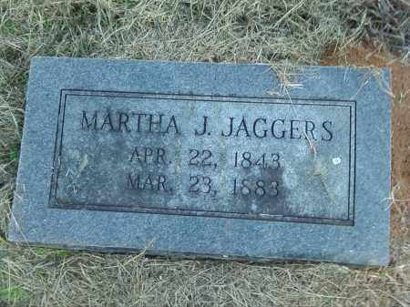 JAGGERS, MARTHA JANE - Pulaski County, Arkansas | MARTHA JANE JAGGERS - Arkansas Gravestone Photos