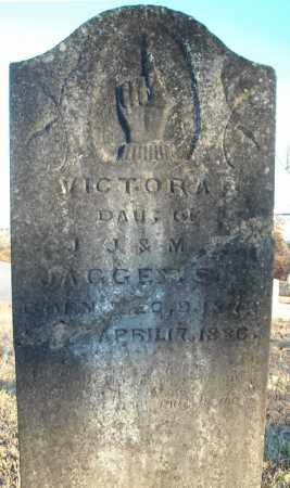 JAGGERS, VICTORA - Pulaski County, Arkansas | VICTORA JAGGERS - Arkansas Gravestone Photos