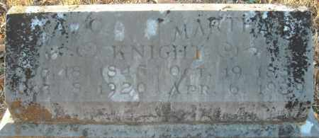 KNIGHT, A. C. - Pulaski County, Arkansas | A. C. KNIGHT - Arkansas Gravestone Photos